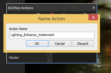 Name Action