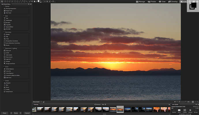 Open Image in Edit Mode