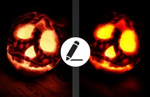 How to Make a Spooky Hallowe'en Photo
