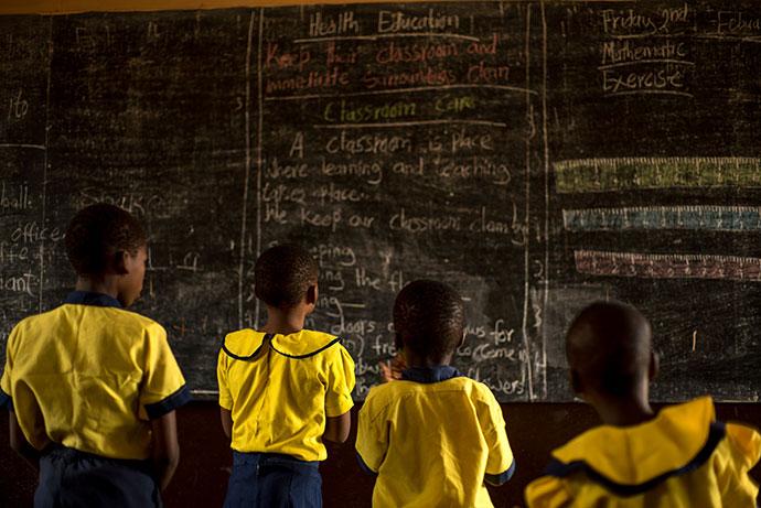 Buea School for the Deaf in Buea, Cameroon