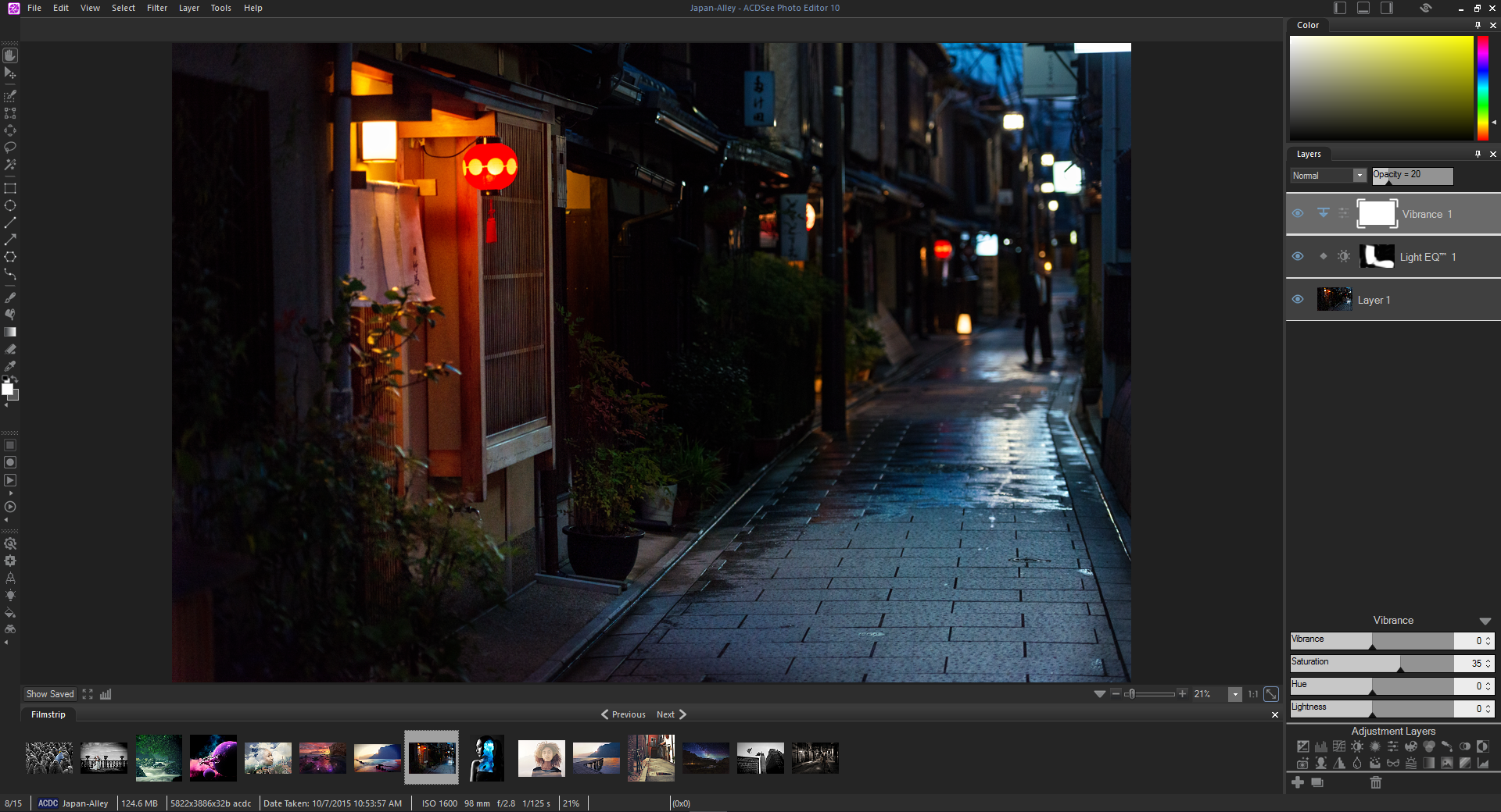 Built-In RAW Support & ACDSee Photo Editor 10