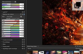 Précision du contrôle des couleurs