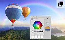 Facilité d'égalisation des couleurs