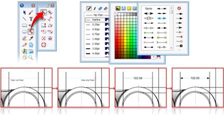 Canvas 14 format dimensions